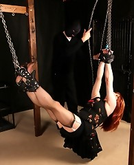 Lucimay gets tied up and used as a human swing