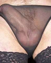 A hot selection of tight black panties on these horny Pantie Boyz big hard cocks