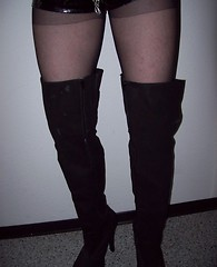 Sultry crossdressing sluts wearing panties and thongs and playing with their hard cocks